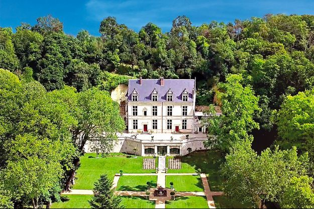 Vue d'ensemble du Chateau Gaillard, à Amboise.