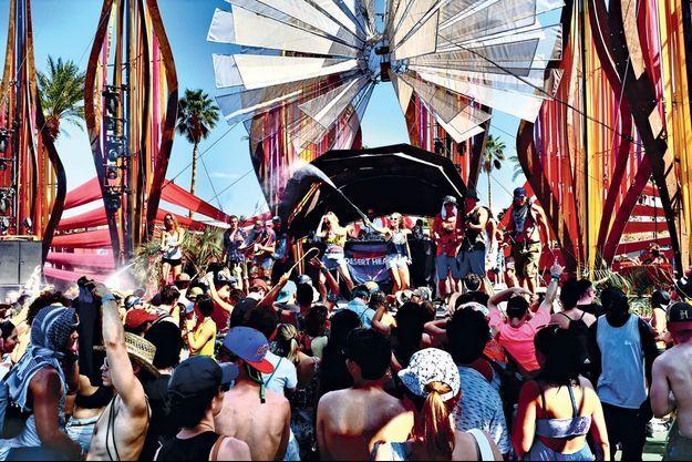 Le festival Coachella en Californie