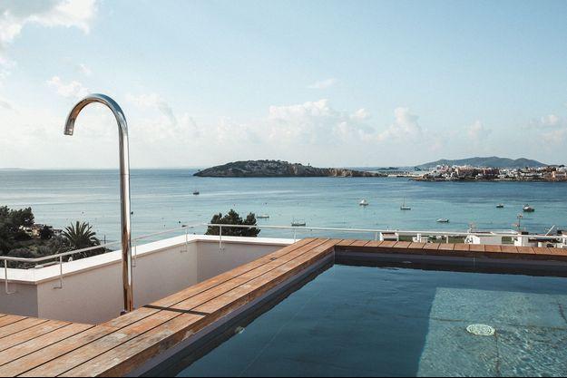 A Ibiza.