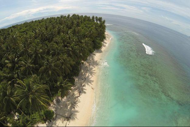 La vue aérienne du paradis de Gauthier Toulemonde.