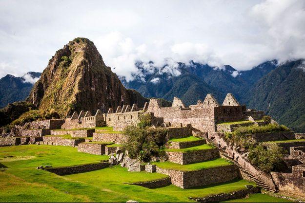 Le Machu Picchu, lieu sacré et perché.