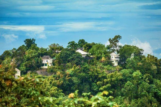 La villa Cocosan, près de Port Antonio, où Daniel Craig a logé pendant son séjour jamaïcain.