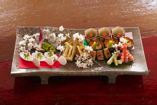 Des délices culinaires du Japon.