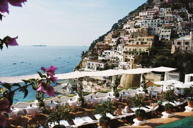 La vue époustouflante depuis l'hôtel Le Sirenuse justifie à elle seule le voyage à Positano.