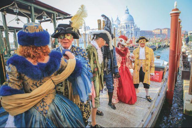 La tentation du carnaval de Venise