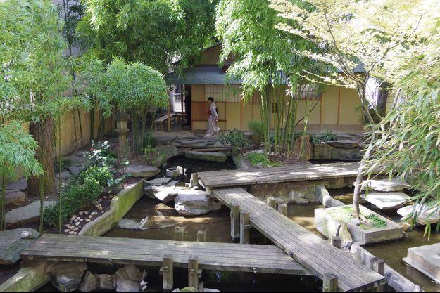 Jardin japonais du Musée Guimet, Panthéon bouddhique à Paris