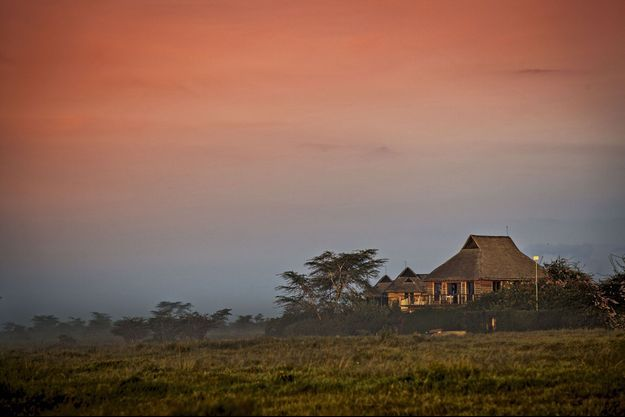 La ville la plus proche de Segera Retreat est à 1 000 km.