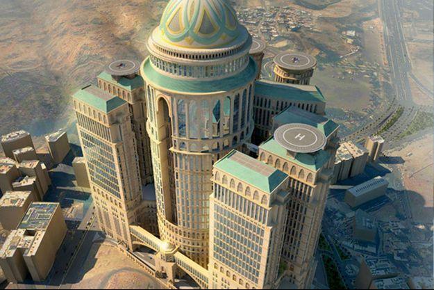 """Le """"Abraj Kudai"""", dont la construction devrait être achevée en 2017, deviendra le plus grand hôtel du monde."""