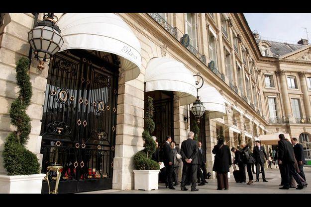 L'hôtel Ritz, sur la place Vendôme
