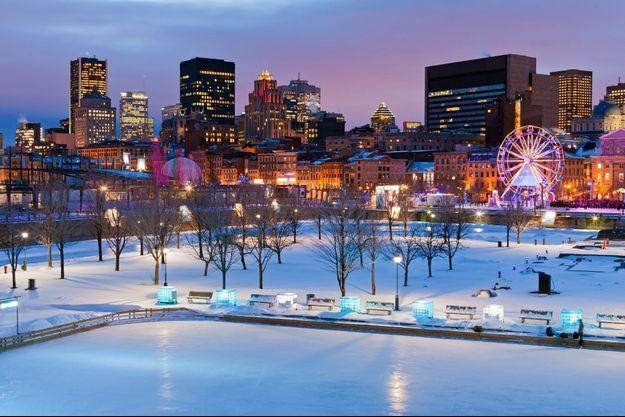 Montréal en hiver.