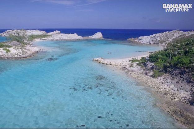 Les plages des Bahamas, théâtre d'un Koh-Lanta parodique
