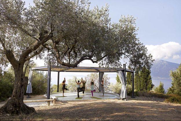 Silver Island, l'îlot grec exclusivement dédié au yoga.