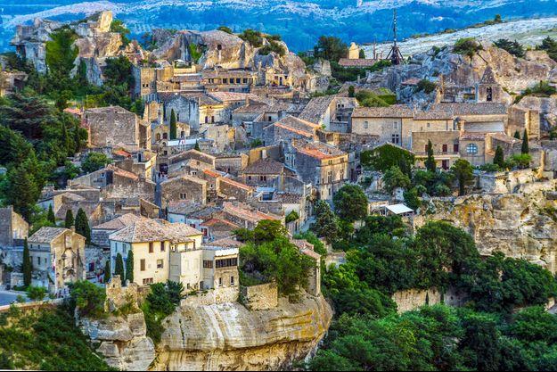 Le village de Baux-de-Provence, Bouches-du-Rhône (13).