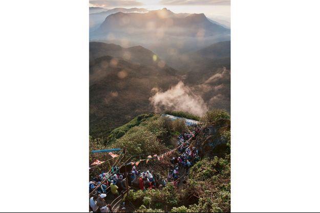 Pèlerinage sur l'Adams Peak au Sri Lanka