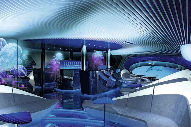 Une croisière sous la mer? Ponant lance un navire à vision sous-marine doté d'un espace sous-marin multi sensoriel, baptisé Blue Eye.