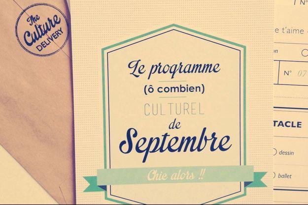 Illusration du programme culturel de Septembre