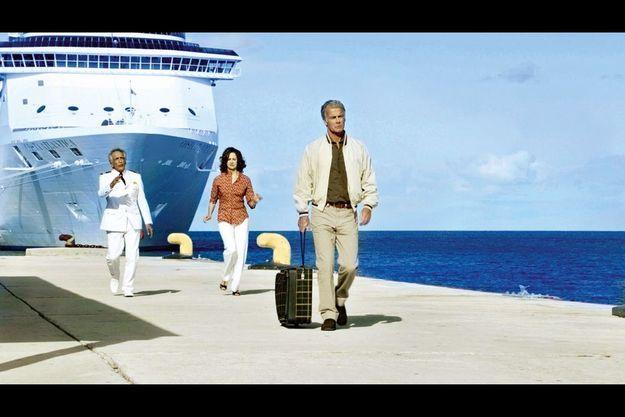 Gérard Darmon, Valérie Lemercier, Franck Dubosc, héros de « Bienvenue à bord », en salle le 5 octobre. Cette année, deux films transforment la croisière en phénomène de société