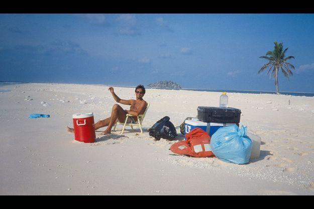 Notre reporter en 1986, seul sur l'atoll français oublié de Clipperton.