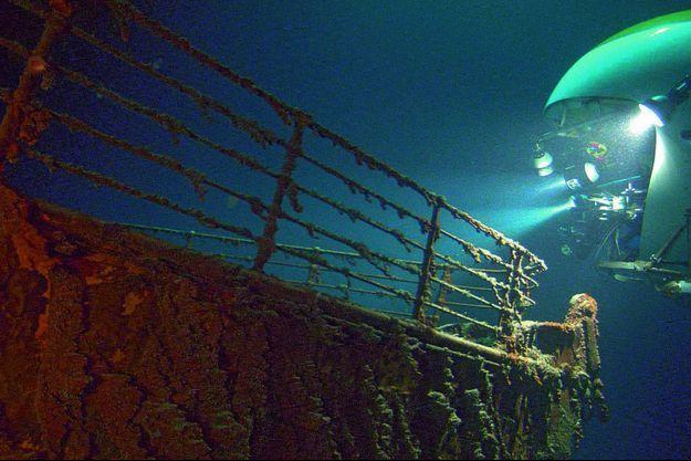 """L'épave du """"Titanic"""""""