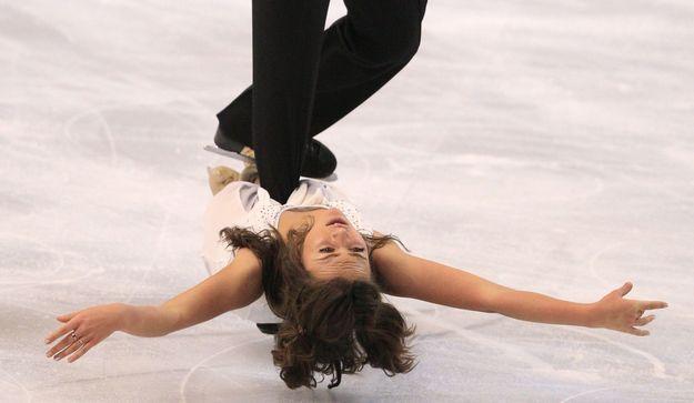 Davis et le patinage artistique blanc datant
