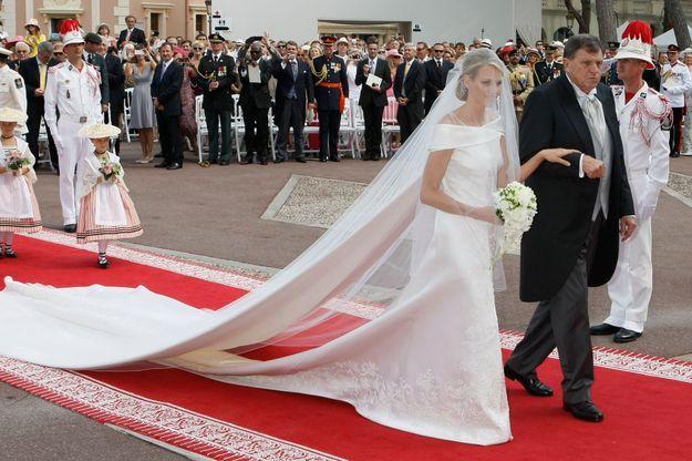 Royal style Charlène de Monaco, sublime marié