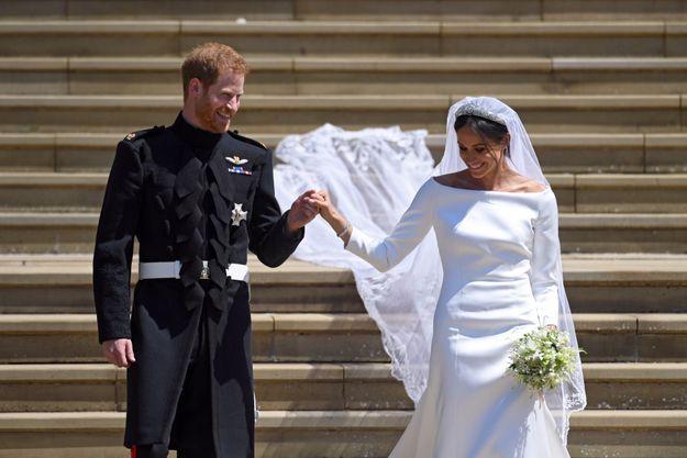 La robe de mariée de Meghan Markle en photos