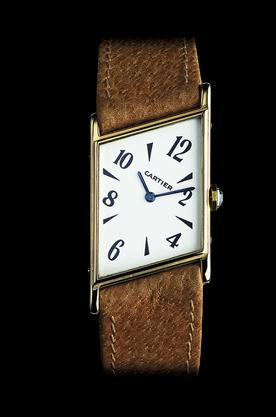 1936 Apparition de la montre Tank