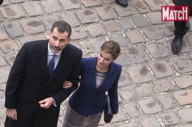 Letizia et Felipe, le film d'une journée endeuillée par le crash