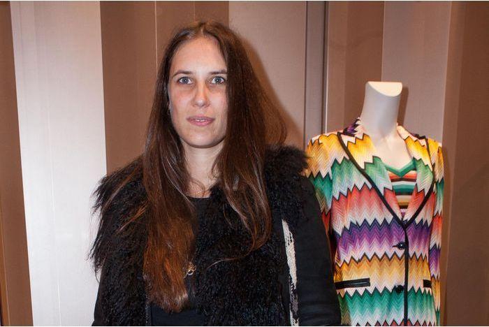 Tatiana Santo Domingo soutient Missoni à Paris