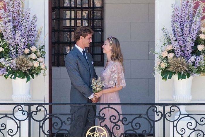 La mariée voit la vie en rose