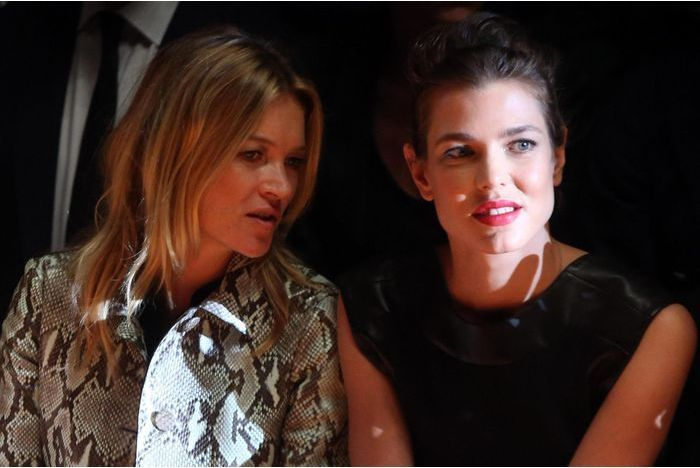 Charlotte Casiraghi et Kate Moss, des amies à la mode
