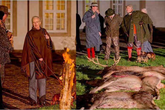 Pour Margrethe et Henrik, la chasse a été bonne