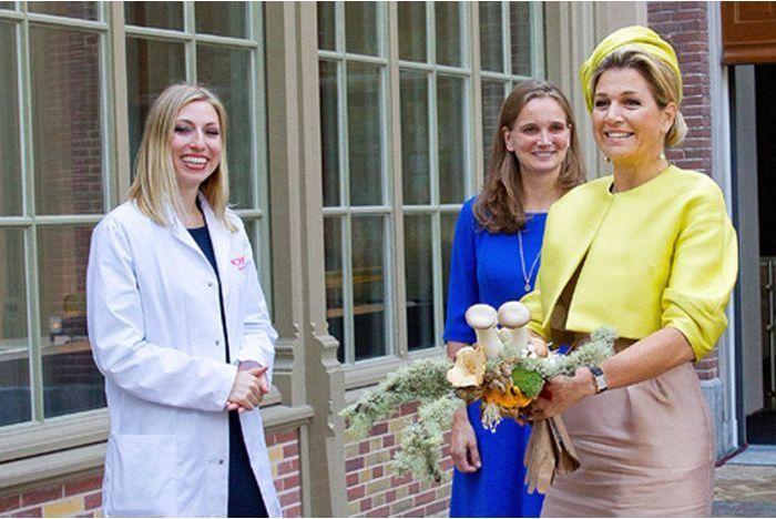 Maxima inaugure Micropia à Amsterdam