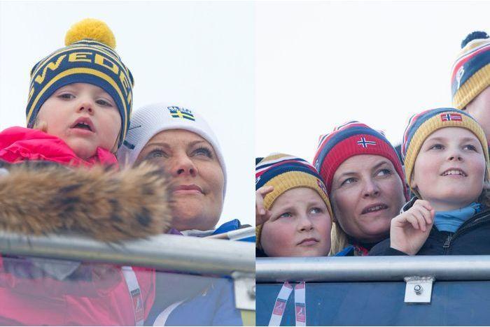 Ingrid-Alexandra et Sverre-Magnus en voisins chez Estelle