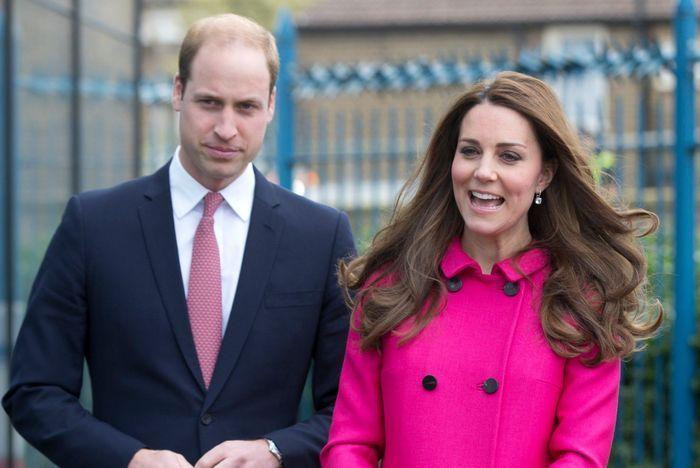 Kate et William font du shopping