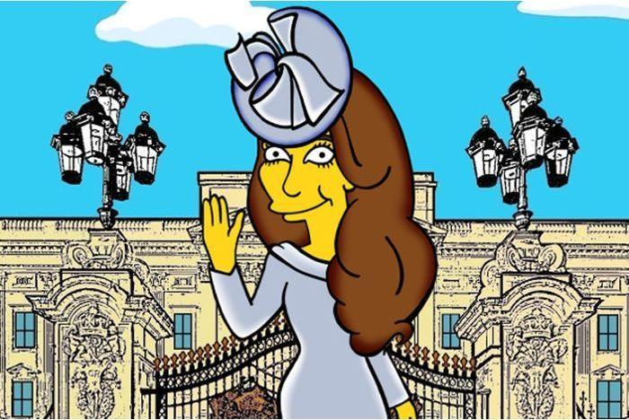 Kate, une duchesse chez les Simpson