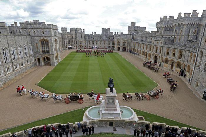 Le château de Windsor menacé par un mouvement social