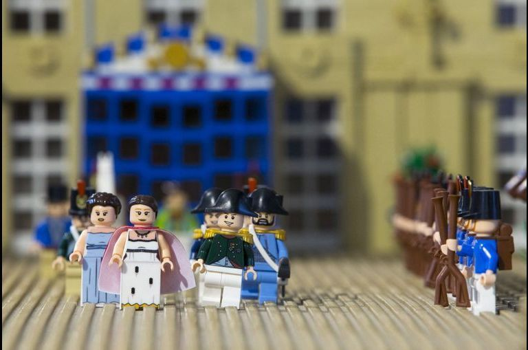 Waterloo, mornes Legos
