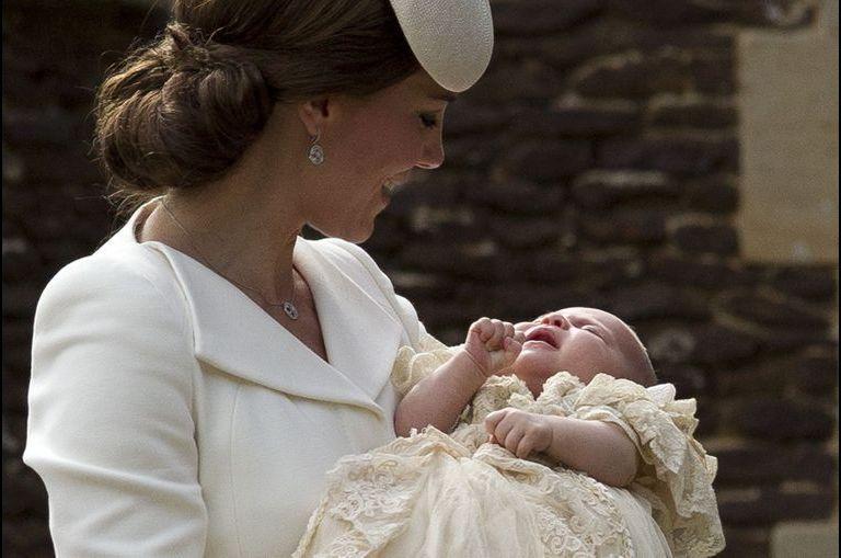 Le baptême de la princesse Charlotte en photos