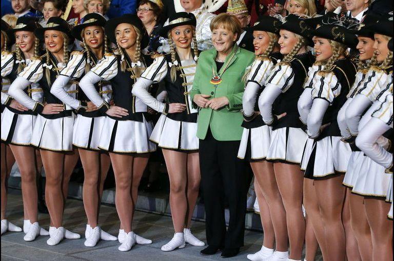 Angela et les majorettes