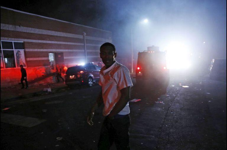 Nuit de tension à Baltimore
