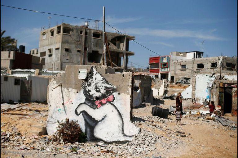 Le chaton de Banksy