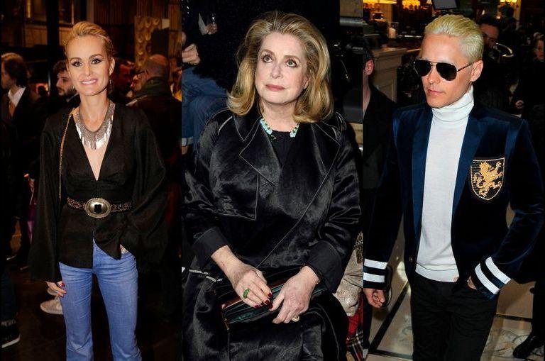 Revue des people à la Fashion Week de Paris
