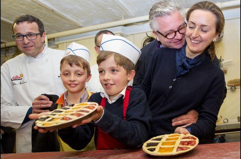 Le prince Laurent transforme ses fistons en pâtissiers