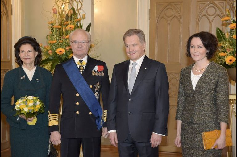Le couple royal de Suède chez le voisin finlandais