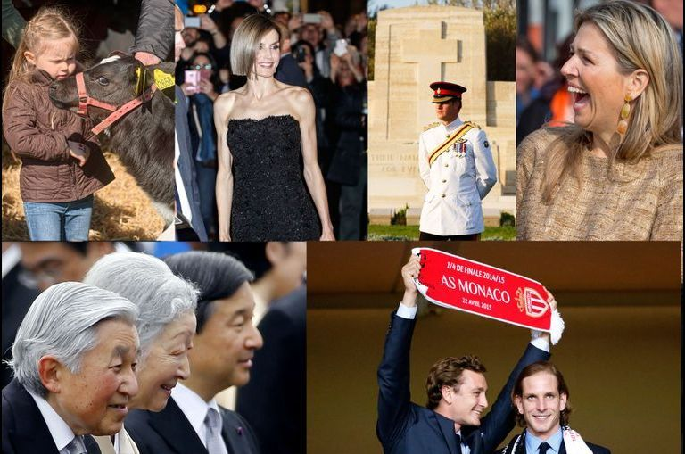 Les plus belles photos de la semaine royale