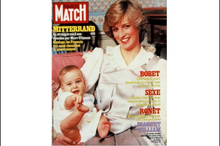 """Les """"bébés royaux"""" dans Match"""