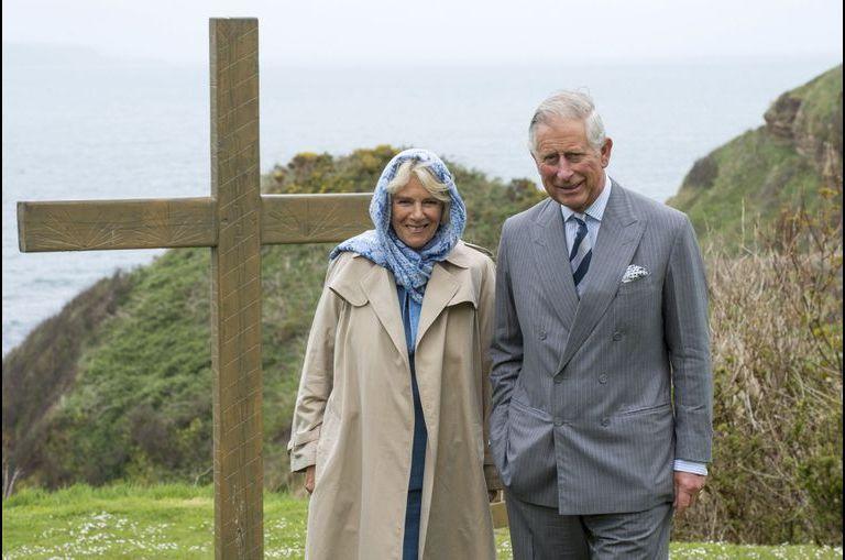 Charles et Camilla en Irlande du Nord