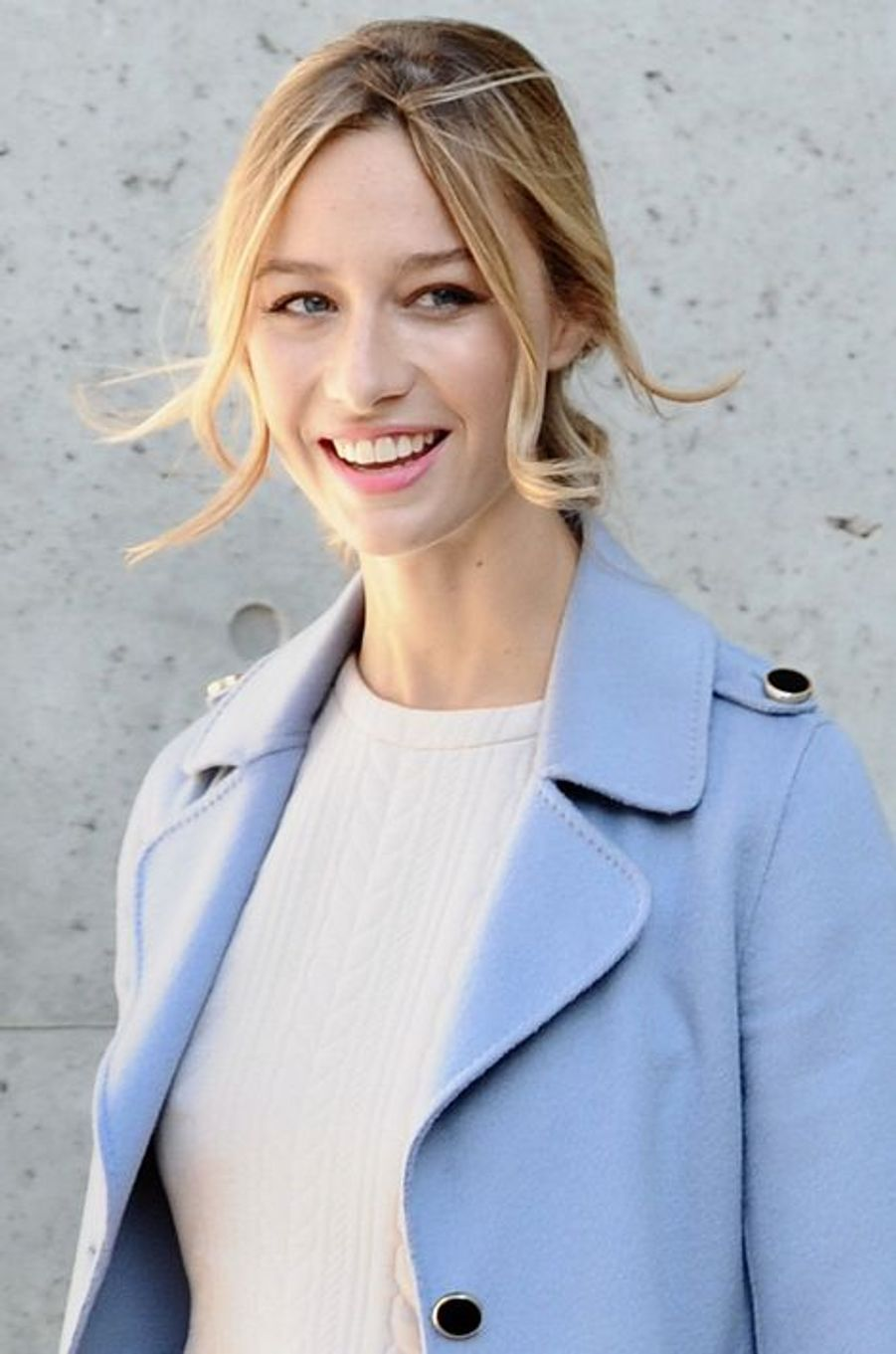 Beatrice Borromeo-Casiraghi à la Fashion Week de Milan, le 25 septembre 2015