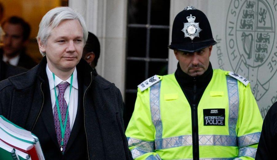 Le fondateur de WikiLeaks fait appel devant la Cour suprême, la plus haute instance juridique de Grande-Bretagne, pour éviter l'extradition vers la Suède.